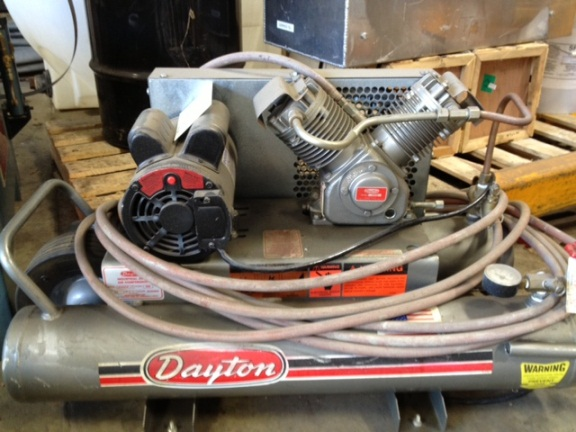 One 1 Dayton Air Compressor